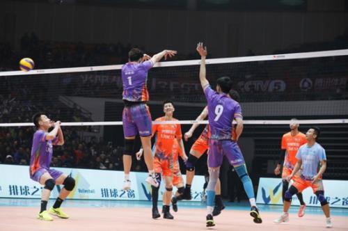 2016-17赛季中国排球联赛全明星赛。体育之窗供图