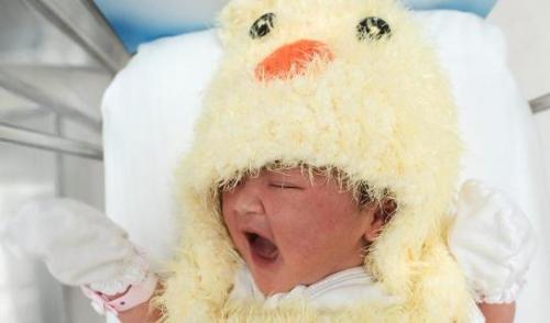 资料图片:婴儿。