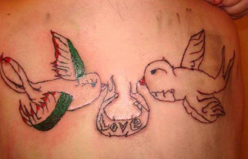 这些失败了的纹身图案,每一个看着都很糟心