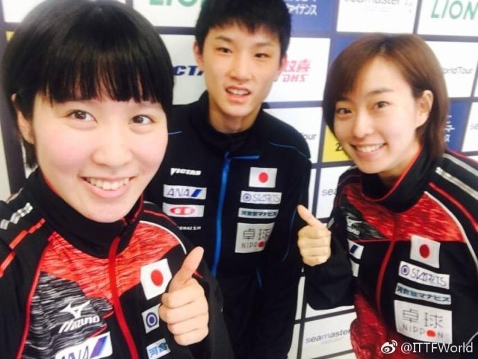 国乒缺战日本组团刷分 平野美宇张本智和放弃好机会