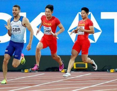 2017年田径世锦赛最终奖牌榜,杨家玉夺第二金,男子接力遗憾