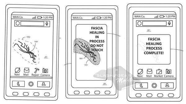 Moto新手机专利曝光:屏幕可自我修复物理损伤