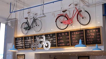 永久自行车主题咖啡馆,想去喝一杯