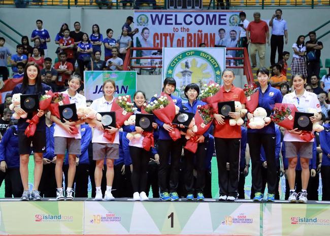 女排亚锦赛最佳阵容公布:泰国成最大赢家 中国仅一人