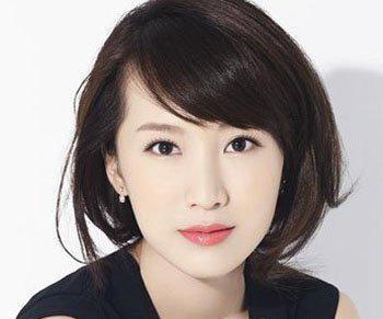 40至50岁圆脸女人适合的发型图片