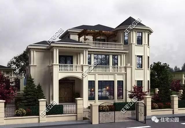 两套农村临街农村别墅,造价就非常高,单单主体弄好,不算内部装修就花