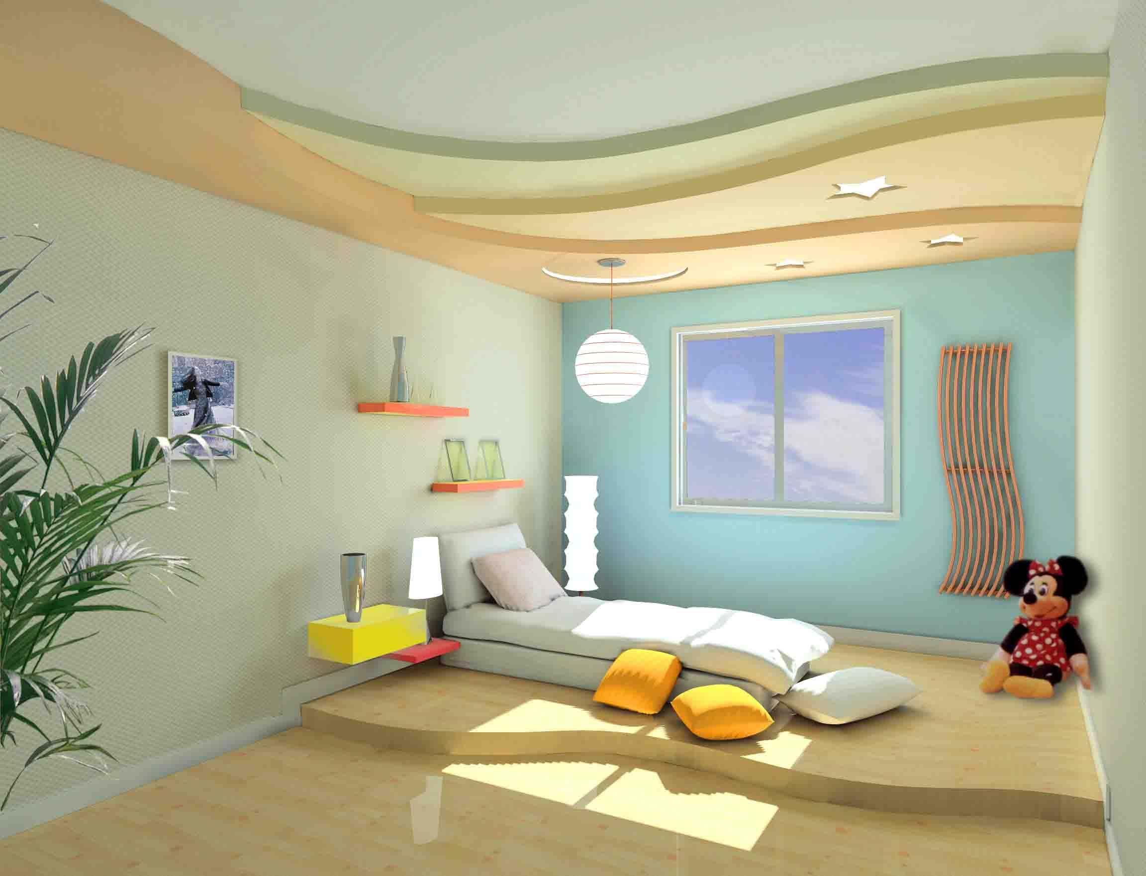 创意超萌的儿童房效果图