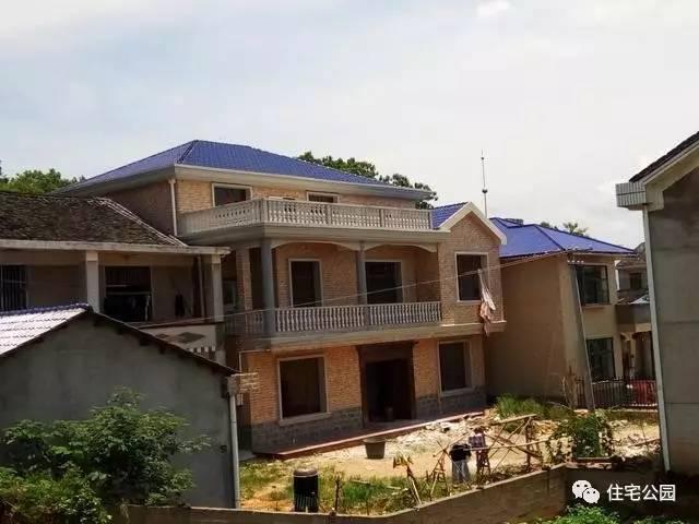 3套农村别墅,湖南30万建2层,广西30万建3层,咋建的