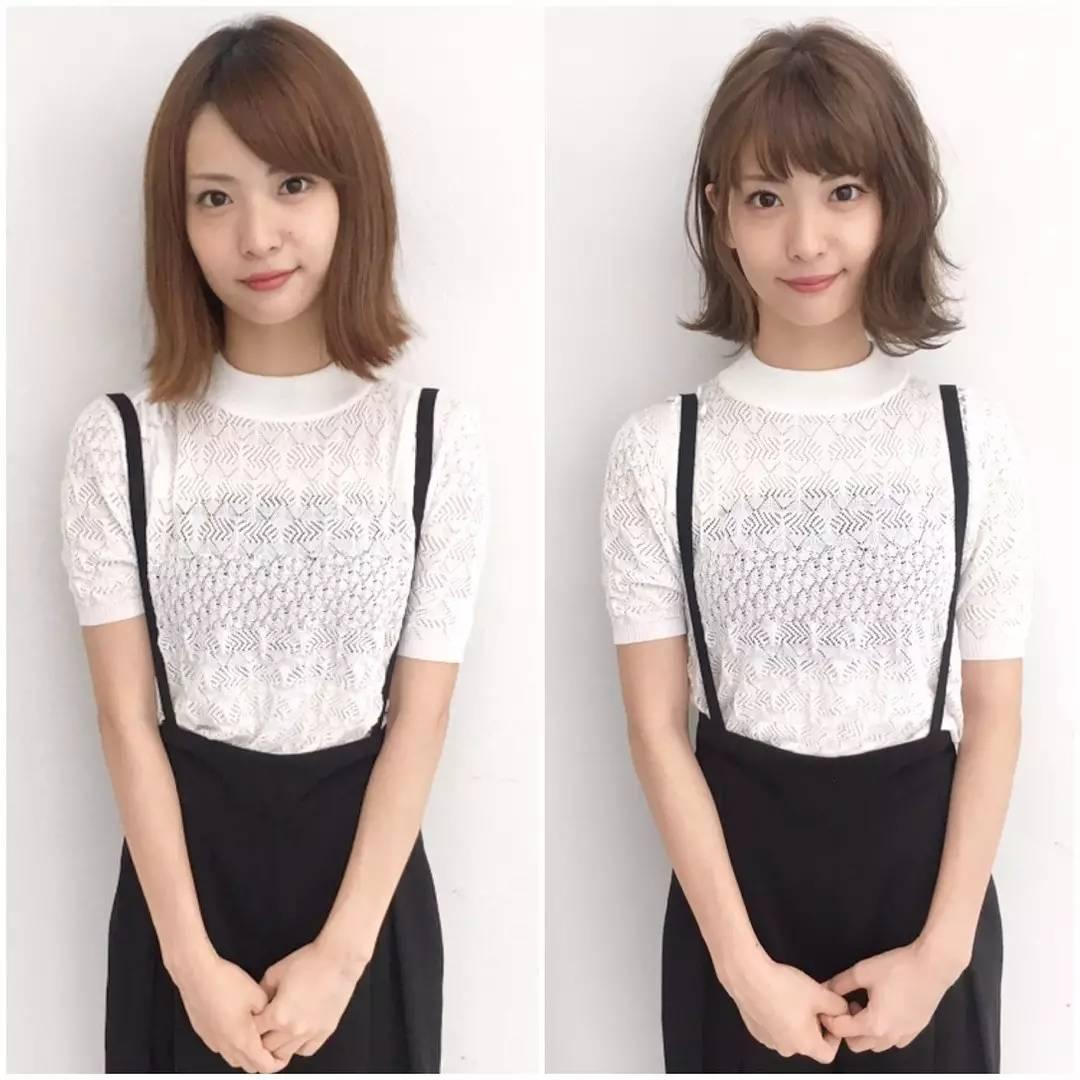 30位日本妹子的剪发前后对比,让你知道选对发型有多重要!