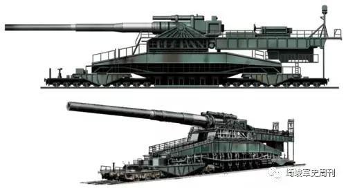 奔跑的巨炮这样炼成:日耳曼列车炮发展简史(2)
