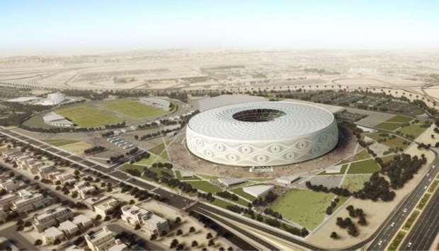 卡塔尔第六座世界杯场馆设计揭开面纱