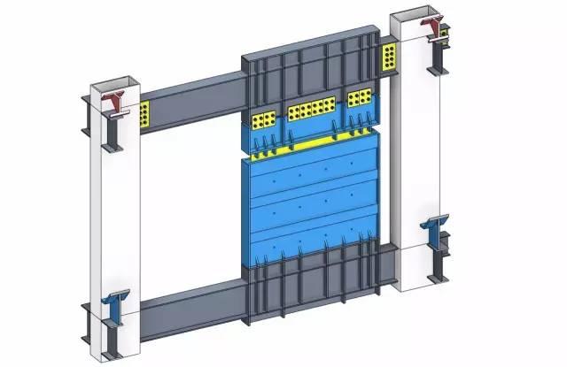 借助bim技术,整合钢结构体系与建筑功能之间的关系,优化结构体系与