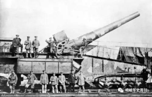 奔跑的巨炮这样炼成:日耳曼列车炮发展简史