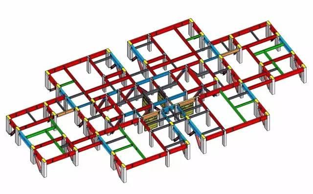 新闻客户端  由于采用消能减震钢框架-支撑结构体系,上部结构重量约