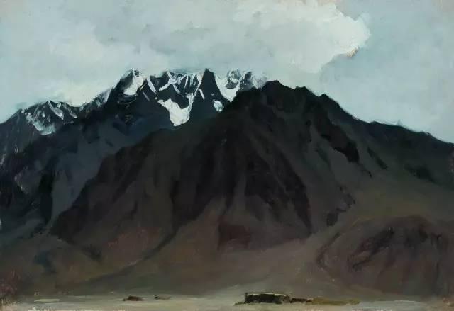 靳尚谊风景油画作品欣赏