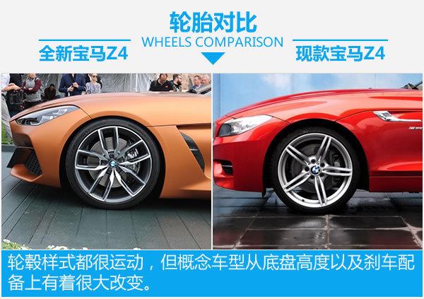 终于等到你 全新宝马Z4概念车新老对比-图5