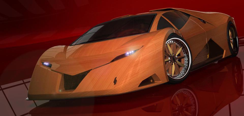 四款木质跑车,不止是玩具,跑起来比兰博基尼