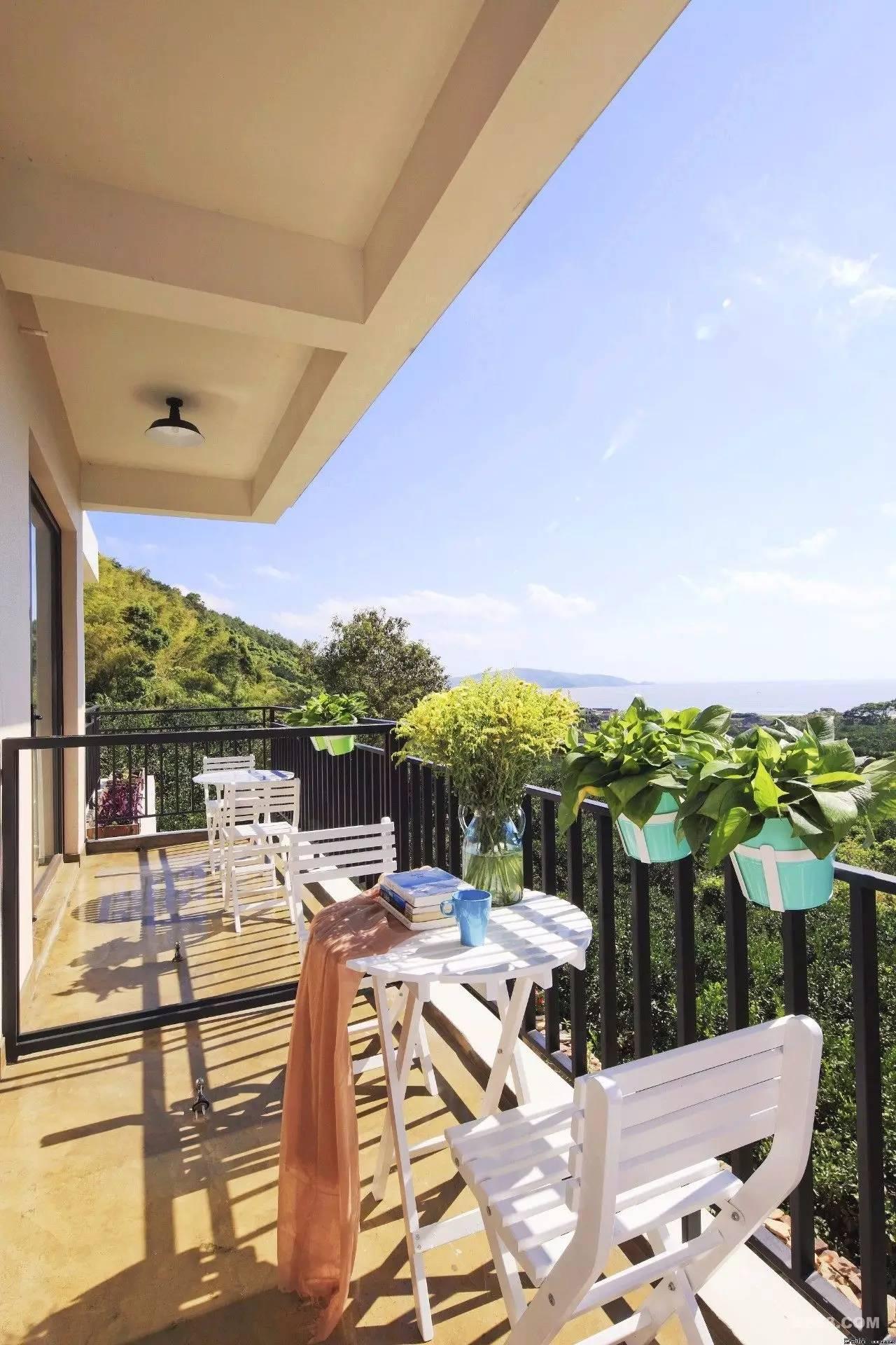 落地窗、阳光房、无边泳池…浙8个超美的海岛黄河人家别墅图片