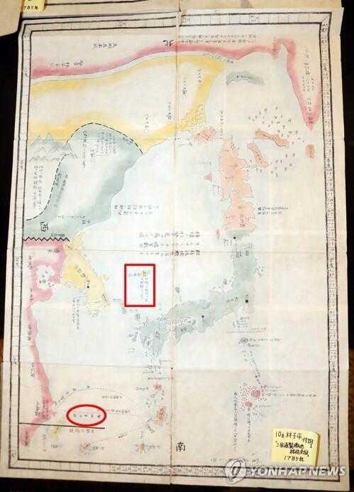 日本学者公开古地图证实钓鱼岛是中国领土 (图)
