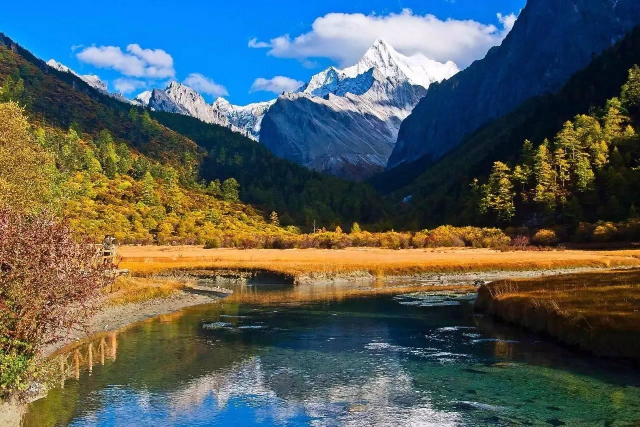 祖国自然风景竖式图片