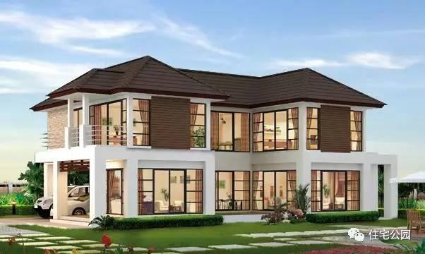 套永不过时2层农村别墅,4实用2最美,为啥南北最想建1 5