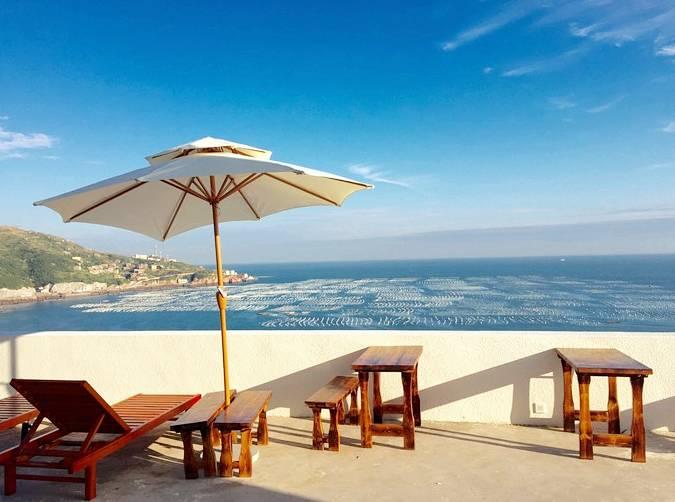 落地窗,阳光房,无边泳池…浙8个超美的海岛民宿在等你