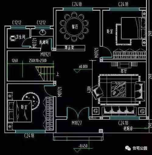 湖南8x10农村自建房设计图