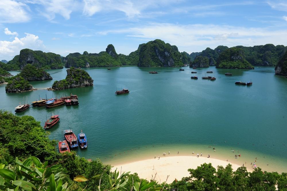 越南天堂岛图片
