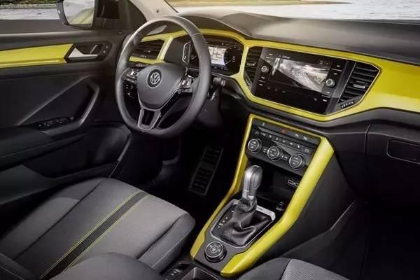 大众爆款紧凑SUV一汽大众引入 大众T ROC量产版发布高清图片