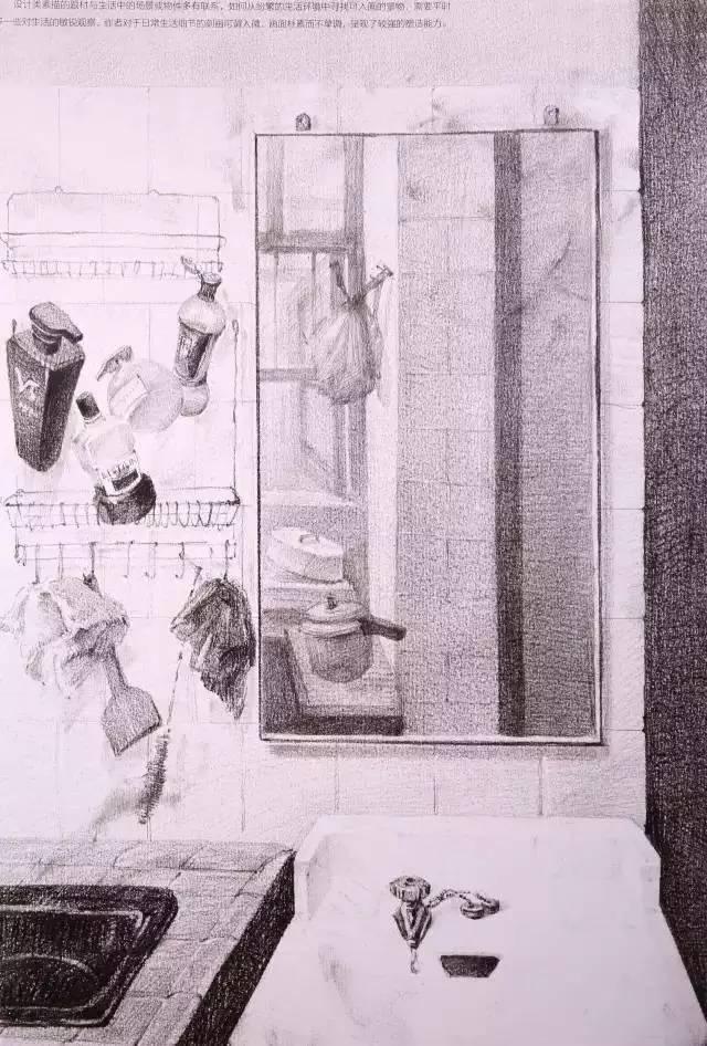 6清华美院设计素描高分卷详解 历年考题