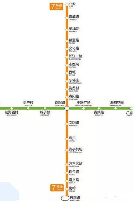 6条地铁通车时间定了!(附青岛地铁16条线路大全)