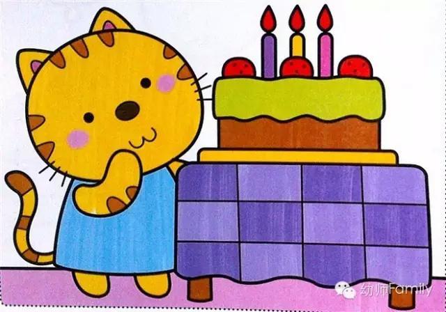 出   我爱吃胡萝卜   小猫过生日