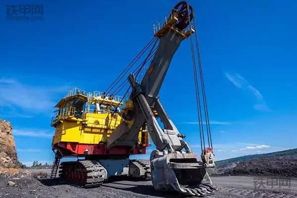 全球最大的19款挖掘机,2017最新排名出炉