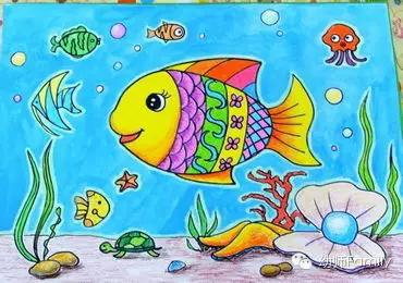 幼儿园简笔绘画展览