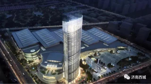 又一地标式建筑!济南西部会展中心中明年底竣工验收