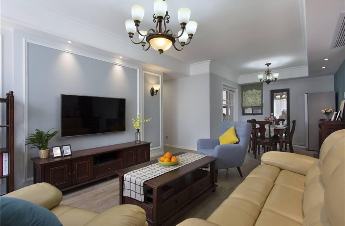 客厅刷什么颜色,怎么搭配更好看?