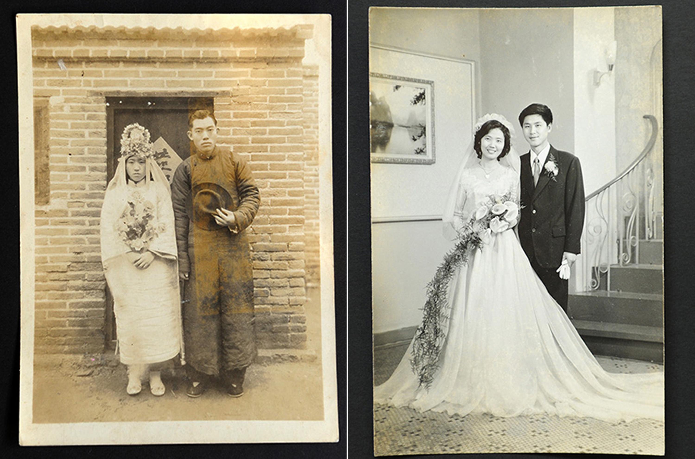 """百年结婚照,见证爱情""""最幸福时刻""""图片"""