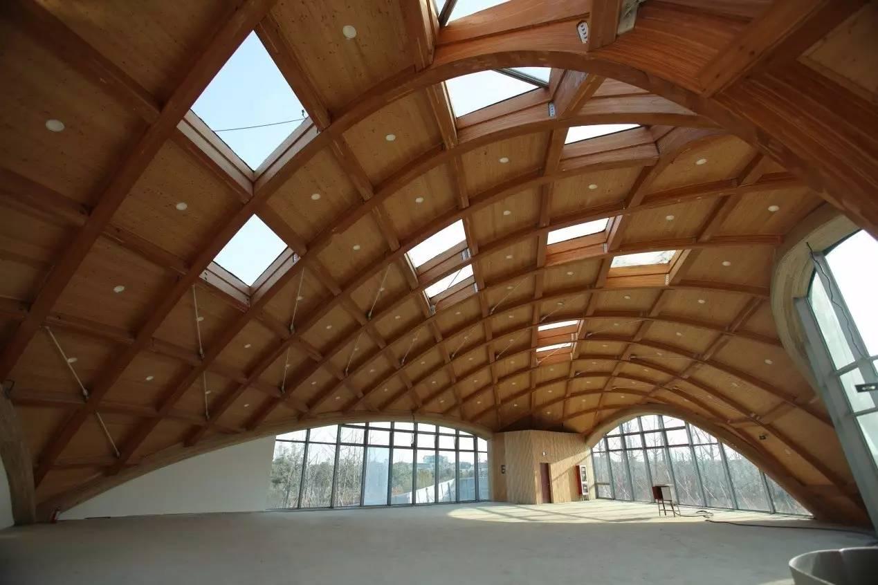2017年 苏州园博会现代木结构主题馆