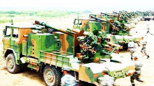 射程是印军最好火炮的三倍,中国一新卡车炮公开