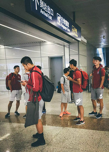 当代力帆开启一周韩国拉练 或与当地球队进行热