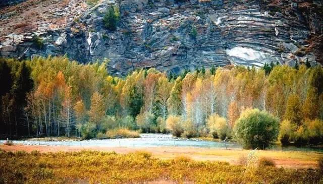欧式风景秋天油画
