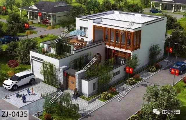 10套农村顶级中式合院,第7套造价40万还带柴火房,美极了!图片