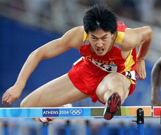 搞田径的刘翔之后中国体育圈又一个人物.