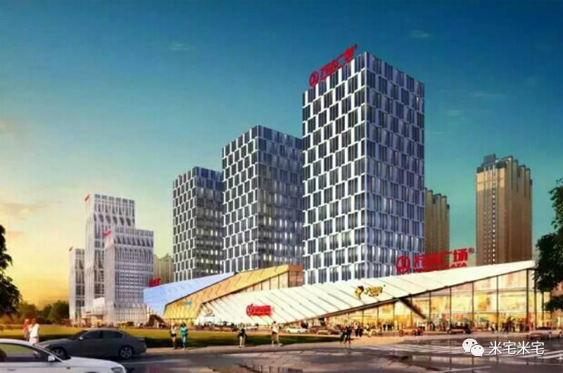乌鲁木齐经开万达广场设计效果▼ 城北新区 与会展新区,高铁片区的高