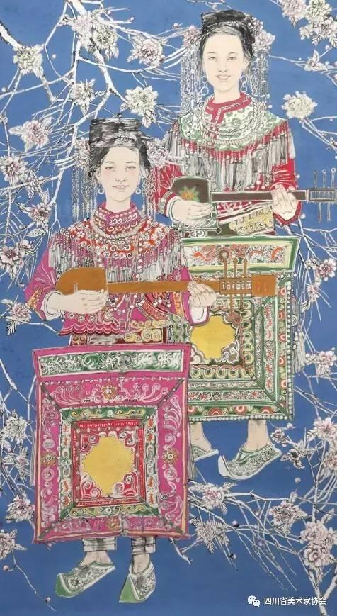 展览预告 | 风起澜沧江西南地区少数民族题材美术作品展明日抵蓉