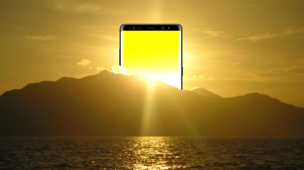 色域/亮度/色准无敌!三星Note8屏幕获最高评级