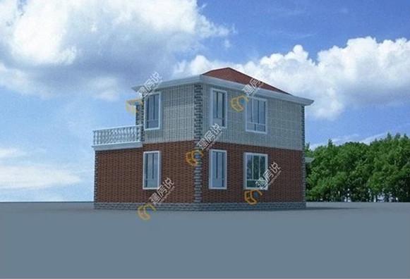 12米长5米宽房子设计图