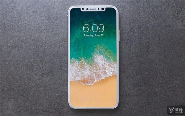 苹果iPhone 8更多细节:Home键将被完全取代