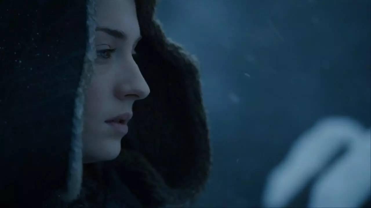 今,所有粉丝都知道剧集是小说的 囧恩的身世最终被确定,也是在冰