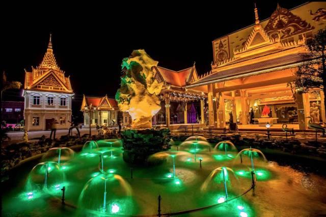 别去泰国了 花都就有个小曼谷,人少景美还免费